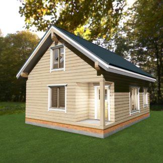 Проект дома № 1703 — 94 м2 (7 х 9)