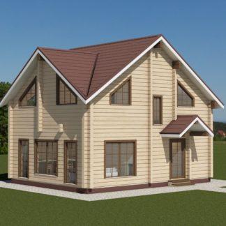 Проект дома № 2757 — 104 м2 (7 х 9)