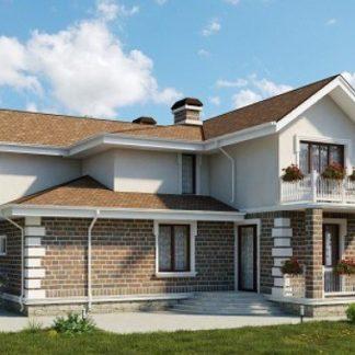 Проект дома №А2 — 319 м2 (16 х 20)