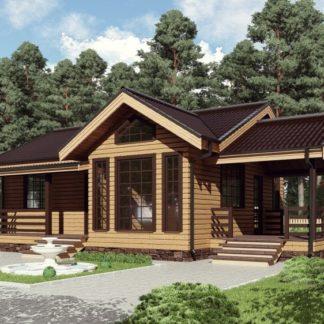 Проект одноэтажного дома (7х9)