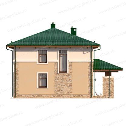Проект дома в два этажа № 1783 — 153 м2 (10 х 10)