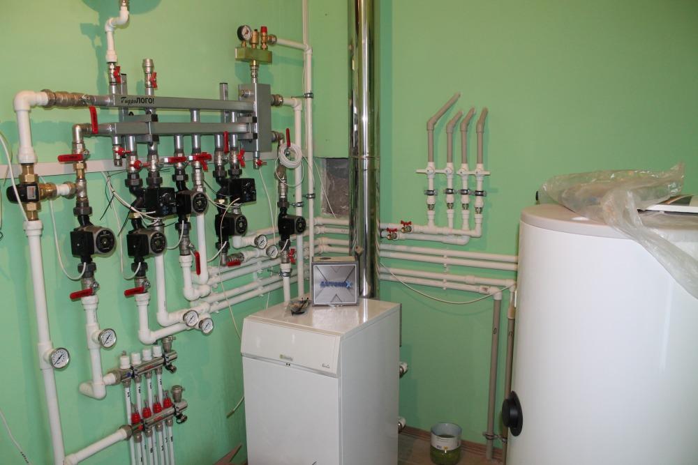 Инженерное оснащение (сантехника, отопление, электрика)